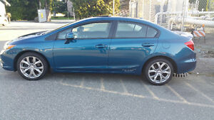 2012 Honda Civic Si 4dr Sedan