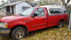 2001 Ford F-150 XL - 2 sets of tires - as is