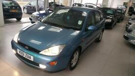 2001 FORD FOCUS ZETEC Blue Manual Petrol