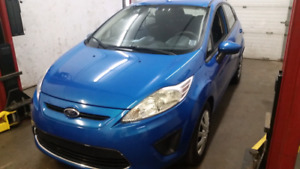 2012 ford fiesta only 62000km