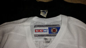 2  Large Colorado Avalanche Jersey`s (CCM and Starter) Cornwall Ontario image 2