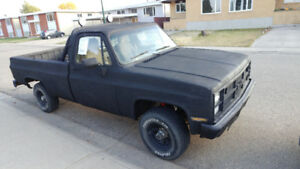 1983 GMC 4x4 Trade For a 4 cyl car or CASH