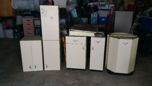 Vintage Youngstown metal kitchen cabinets