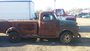 SOLID WESTERN 1948 FARGO 1 TON OR 50 GMC RAT ROD PROJECT