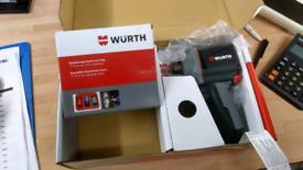 Wurth impact wrench mini stubby gun 1/2 wit socket set 17, 19, 21.