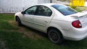 2001 Chrysler neon. Dependable!!