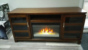 WOW Fireplace Entertainment TV Media Stand - CHEAP!