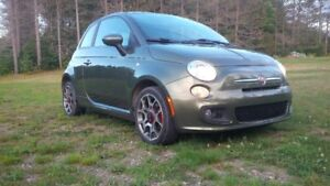 Fiat 500 green Hatchback,reduced today,6999