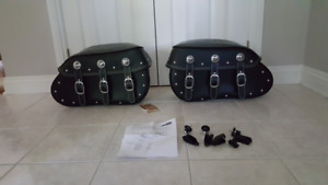 New Indian Quick Release Saddlebags w/Mounting Kit