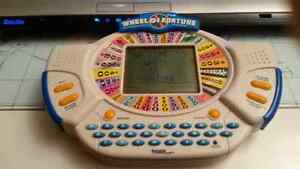 Tiger Wheel of Fortune Hand Held Electronic Game