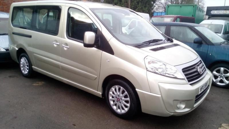 2013 fiat scudo 2 0 multijet panorama family 8 seats taxi. Black Bedroom Furniture Sets. Home Design Ideas