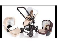 KinderKraft 3 in 1 stroller (Used)