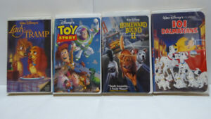 GREAT CHILDREN'S CHRISTMAS GIFT: 15 CLASSIC DISNEY VHS TAPES