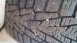 BMW studded winter tires on rims 4 Prince George British Columbia image 3