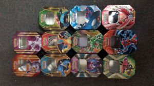 Selling Pokemon tins