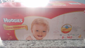 New unopened box of Huggies Size 3 Diapers