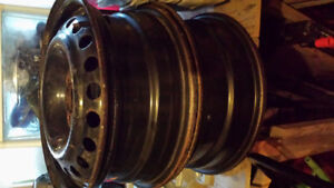 Steel rims 15 inch, 5 x 100