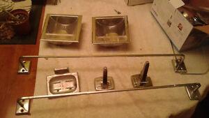 Vintage Chrome Bathroom Acessories