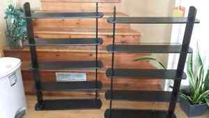 2 Shelves for dvd, blue ray discs or colsole games