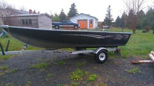 12' G3 VGuide Aluminum Boat, Motor and trailer