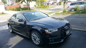 2016 Audi A5 lease take over with low monthly payment and high a