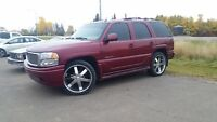 2006 GMC Yukon Denali On 24's No Reasonable Offer Refused!!