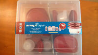 Snaptops food containers - 42-piece set