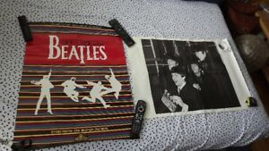 2 BEATLES POSTERS PACKAGE DEAL/1 COLOR+1 B&W
