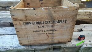 Antique wood box / crate Kitchener / Waterloo Kitchener Area image 3