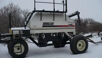 25 ft Bourgault 5710 air drill