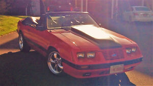REDUCED!!--CONVERTIBLE MUSTANG-CONSIDERING TRADES!
