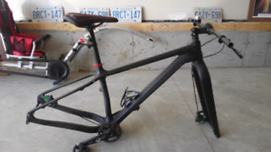ICAN Carbon Fatbike Frame