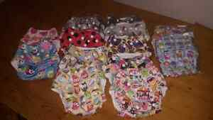 Kawaii Cloth diapers-girl prints Belleville Belleville Area image 2