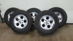 2007-2018 Jeep rims and tires package