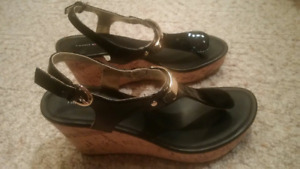 NEW- Tommy Hilfiger Wedge Sandals