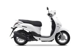 2017 YAMAHA DELIGHT 125CC,MILKY WHITE, BRAND NEW! ON THE ROAD