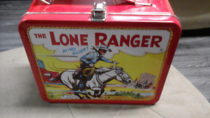 The Lone Ranger Lunch Pail Tin