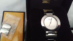 Rare Fendi Orlogi Swiss Men's watch sapphire crystal $190 OBO Windsor Region Ontario image 4
