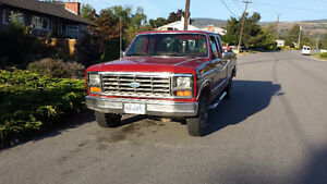 1986 Ford F-150 XLT 4X4 Project
