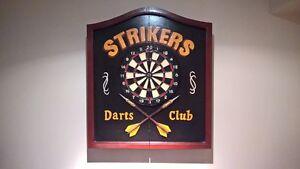 Striker Dart Board Set