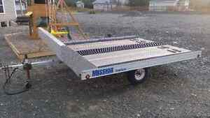 Mission Double Snowmobile Trailer