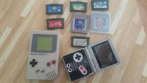 2 Gameboys and games great condition!