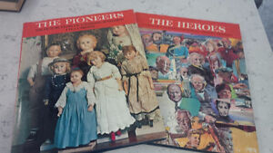 Books: The Heroes &The Pioneers, Cdn Illustrated Library