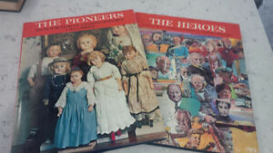 Books: The Heroes &The Pioneers, Cdn Illustrated Library Kitchener / Waterloo Kitchener Area image 1