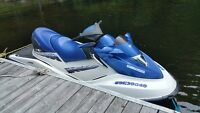 2003 SEADOO GTX DI, 3 Seater, With Trailer, Excellent Condition