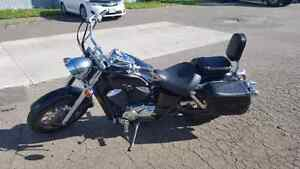 For sale or trade....  Honda shadow