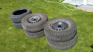 Champion Ice Pro SUV Tires 225/65 R17 Like New