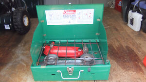 coleman camping gas stove