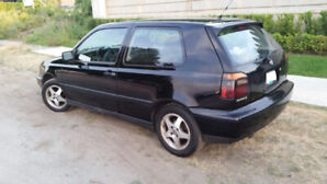 VOLKSWAGEN 1998 GTI 5-spd Black w/ power SUNROOF