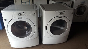 MAYTAG front load washer and electric dryer 400.00, delivery ava
